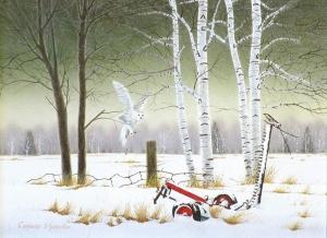 Surviving Winter by Conrad Mieschke