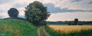 Late Summer Fields by Cyril Cox