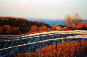 Morning Light Farm by Cyril Cox