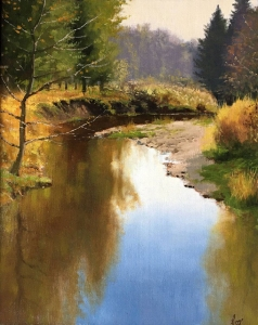 Tranquil River by Cyril Cox