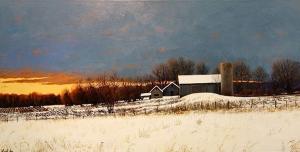 Winter Farm by Cyril Cox