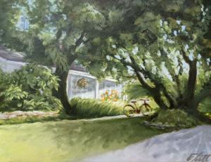 Sturgeon Lake Cottage 1 by David Flett