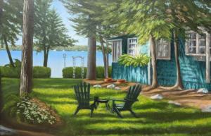 Sturgeon Lake Cottage 2 by David Flett