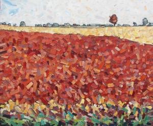 Autumn Field 2 by David Grieve