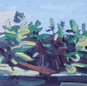 Lush Shore 4 by David Grieve