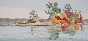 Nipissing Island by David Grieve