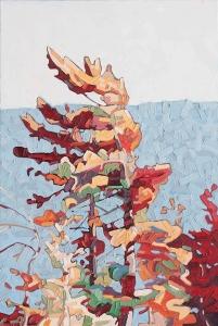 Reaching Pine 2 by David Grieve