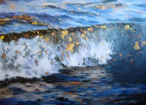 Water Fall by David Vasquez