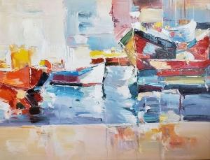 Docked at the Bay by David Vasquez