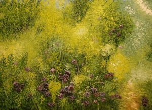 Purple Asters by David Vasquez