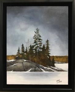 Bass Lake Winter by Eddie LePage