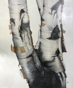 White Birch by Eddie LePage