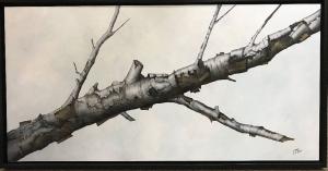 Winter Birch by Eddie LePage