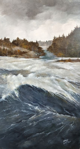 Burleigh Rapids 11 by Eddie LePage