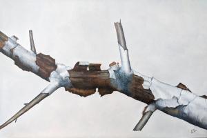 Weathered Birch by Eddie LePage