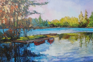 Canoe Trip by Eduard Gurevich