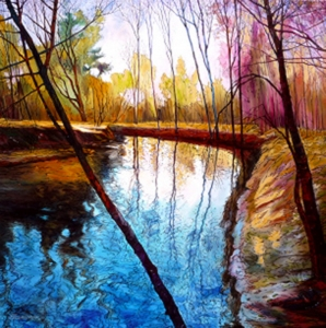 Trout Stream by Eduard Gurevich