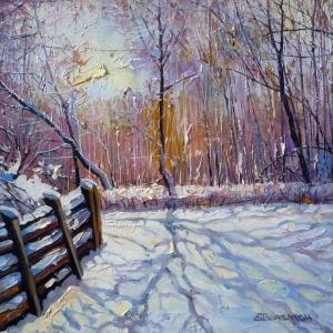 Winter of Mine by Eduard Gurevich