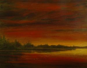 November Sky by Edwin Matthews