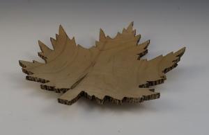 Maple Leaf Bowl by Frank DiDomizio
