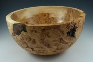 Poplar Burl Bowl by Frank DiDomizio