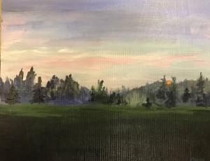 Misty Morning by Gavin Mclay