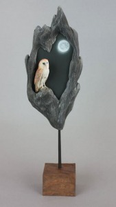 Barn Owl by Gilles Prud'homme