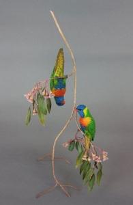 Rainbow Lorikeet by Gilles Prud'homme