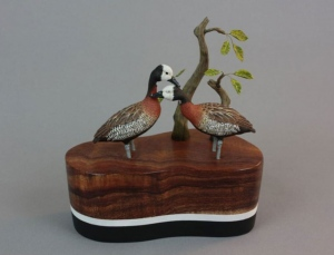 Whistling Ducks by Gilles Prud'homme