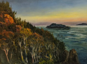 Lake Superior Evening by Guttorn Otto