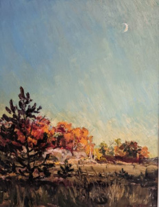 Fall Evening by Guttorn Otto
