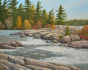 Cascading Flow (Burleigh Falls) by Jake Vandenbrink