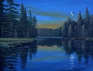 Rising Moon by Jake Vandenbrink