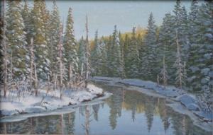 Snowscape by Jake Vandenbrink