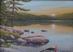 Summer Sunset by Jake Vandenbrink