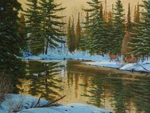 Winters Dawn by Jake Vandenbrink
