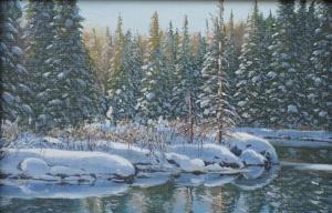 Winterscape by Jake Vandenbrink