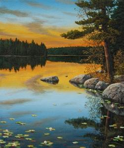 An Evening Glow by Jake Vandenbrink