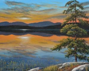 Jack Pine Sunset by Jake Vandenbrink