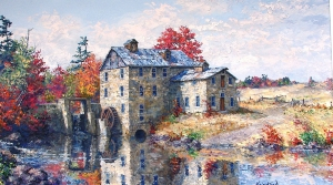 Bowes Tay Mill Perth Ontario by James L. Keirstead
