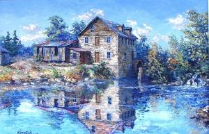 Burnley Creek Mill by James L. Keirstead