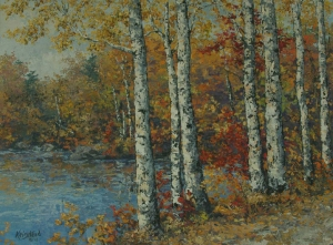 The Birches by James L. Keirstead