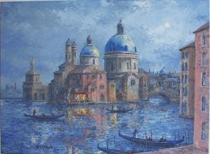 Venice Dusk by James L. Keirstead