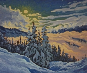 Moon Light Run by Jeffrey Boron