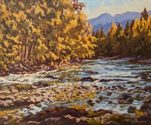 River Gold by Jeffrey Boron