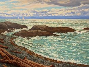 Spring Sailing by Jeffrey Boron