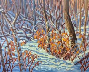 Winter Walk by Jeffrey Boron