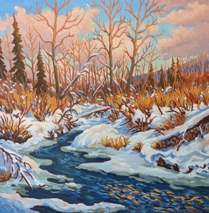 Winter's Retreat by Jeffrey Boron