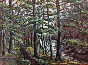 Along the River by Jenny Kastner