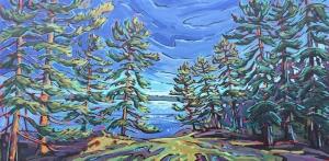 Backside Juniper Island by Jenny Kastner